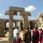 outside main temple