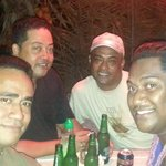 friends from FIJI enjoying a nite out at Crushers