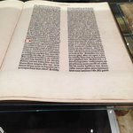 test page from the gutenberg bible