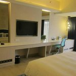 Tv and Dressing area