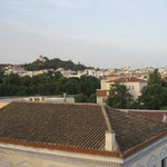 Вид с крыши.