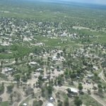 Maun from above