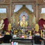 Buddha at main temple