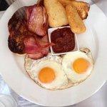 Breakfast plate - great value