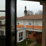 Innenhof des Altenheims
