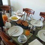 Café da manhã completo