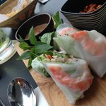 Fresh Vietnamese Spring Roll with Prawn & Pork