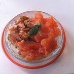 tartare aux 3 saumons