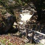 Die Treppe zum Strand