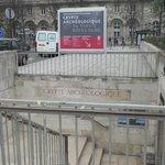 Archeological Crypt: entrance