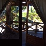 The most lovely balcony on Isla de Holbox
