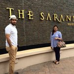 The Sarann our lovely hotel:)