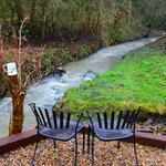 Fancy a cuppa by the stream at St Cuthberts