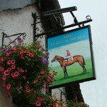 The Horse and Jockey sign