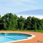 pool area Podere Vecciale