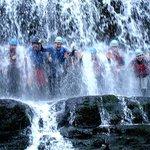 Huge waterfalls to climb, jump, swim through and even walk behind.