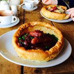 One of today's specials - toad in the hole - amazing!!