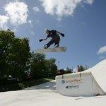 Snowboarding at Dorset Snowsport Centre