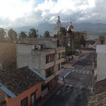 view from the rooftop at La Cuadra