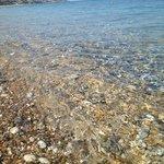 Clearest water in Kefalonia
