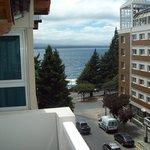 Vista desde el balcón del 4º Piso