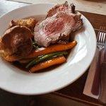 Roast 35 day aged striploin of British beef