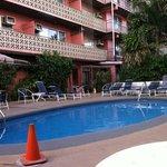 Pool at Royal Grove Hotel