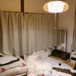 The private Japanese-style room for 2