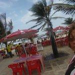restaurante vista para essa praia