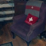 swiss army chair