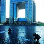 Das Hotel und die Eisfischer