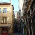 Uma das ruelas de Vieux Lyon