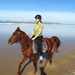 Horse Ridding on the beach!!!