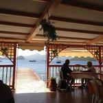 La Salle de Restaurant avec vue sur la Baie.
