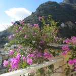view in wonderfull positano hotel