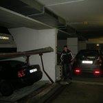 Поземный паркинг
