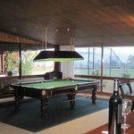 Snooker table in The Lodge