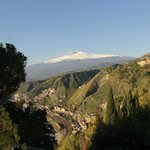 View of Mt.Etna from our room