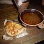 Zuppa di Alce e pasticcio di carne di alce e cinghiale