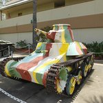 Japanese WWII  Tank..!
