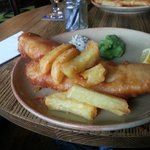 cod and chips £10