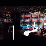 Not the best photo, but it was the view from our bar stool :) our fav spot in patong.... With th