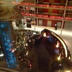 hotel bar. view from the room. room 4083