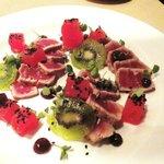 Ahi Tuna & Watermelon