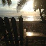 Relaxing enjoying the sunset (: