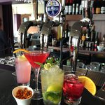 Cocktails at The Salty Dog, Bangor
