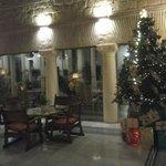 Cafetería en Navidad