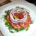 Mixed rocket salad