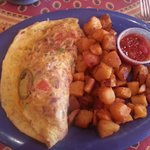 Mexican Omelet! Fabulous.