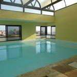 Indoor pool - rooftop